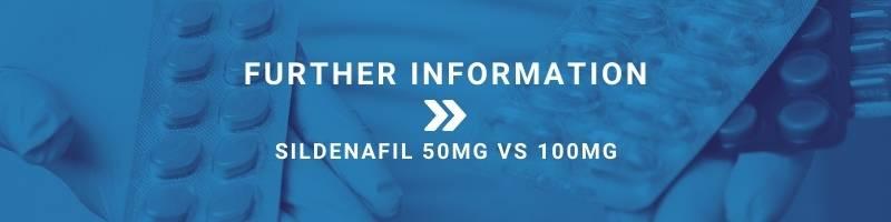 Sildenafil 50mg vs 100mg